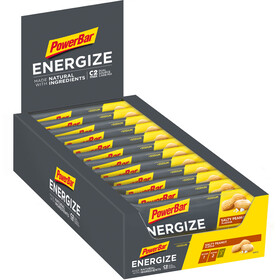 PowerBar Energize Made with Natural Ingredients Bar Box 25x55g, Salty Peanut